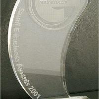 Saudi E-Business Awards 2001 from Business.com